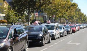 Taksistima subvencije iz budžeta za nova vozila