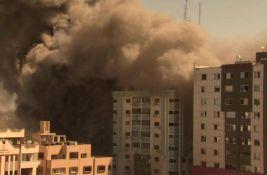 VIDEO: Srušena zgrada u kojoj su redakcije AP i Al Džazire u Gazi