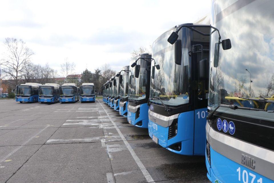 Novi Sad uzima kredit da kupi prvih 10 električnih autobusa