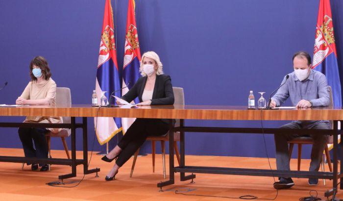 Objavljeno ko su članovi Kriznog štaba, na spisku nema Kisić Tepavčević i Jankovića