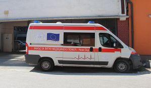 Pešak i motociklista lakše povređeni u udesima u Stevana Musića i Temerinskoj