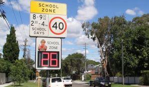 Novi Sad postavlja brzinske displeje sa radarima kod osnovnih škola