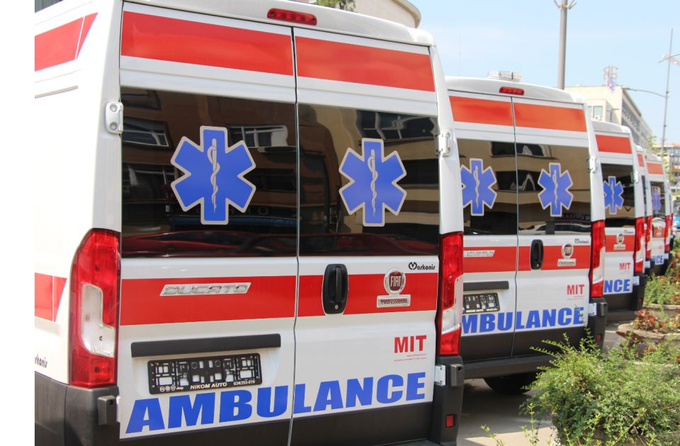 Beba povređena u udesu u Sremskim Karlovcima