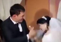 VIDEO: Mladoženja ošamario nevestu na venčanju