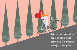 VIDEO: Uputstvo za ravničare - kako biciklom uzbrdo?