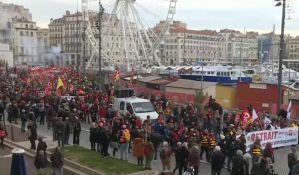 U Francuskoj deseti dan štrajka protiv reforme penzija