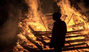 Veliki šumski požar 60 kilometara od Atine