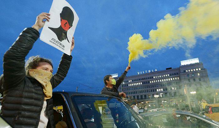Protesti zbog zabrane abortusa u Poljskoj, blokirane raskrsnice