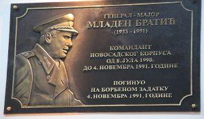 Srbija odgovara na hrvatsku notu notom za spomen ploču u Novom Sadu: Bratić nije osuđen za ratne zločine