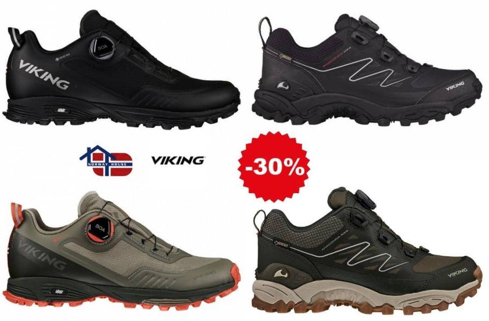 Jesenja promocija na Viking obuću: Aktivan stil života na norveški način