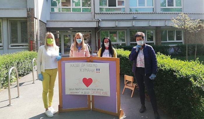 FOTO: Humanitarna akcija novosadskog vrtića Zvončica za Sigurnu žensku kuću