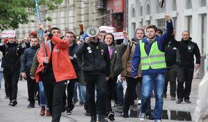 Prvi protest sa bivšim članovima