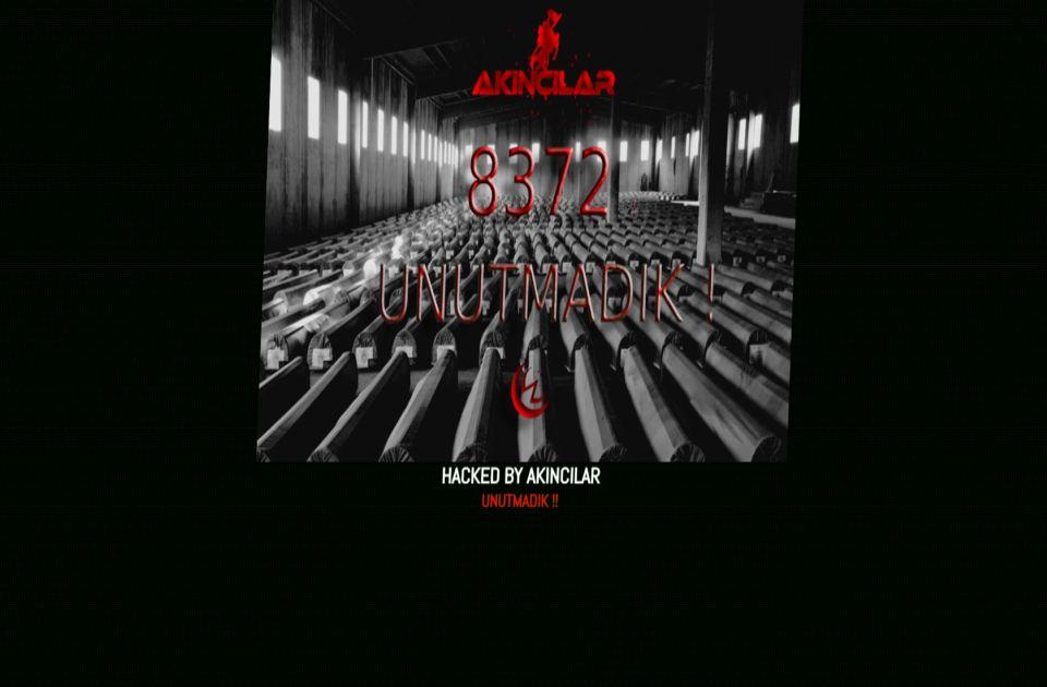 Turski hakeri napali sajt Uprave za javni dug, ostavili poruku u vezi sa Srebrenicom
