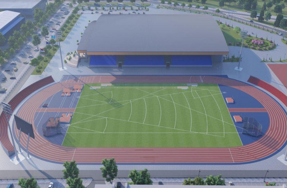FOTO: Pogledajte izgled buduće atletske dvorane u Novom Sadu, investicija od 4,5 milijardi dinara