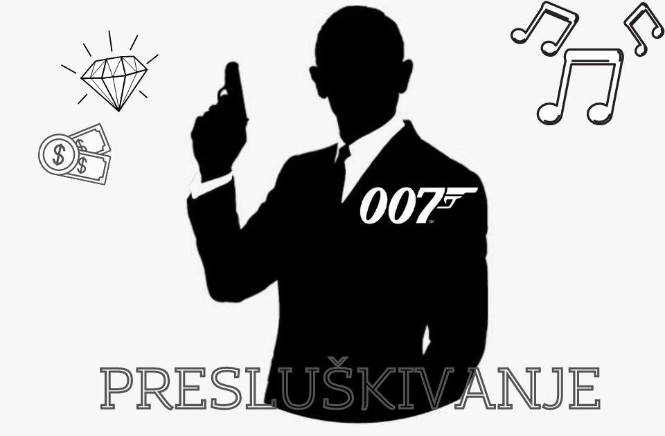 Presluškivanje: U čast kolegi agentu 007