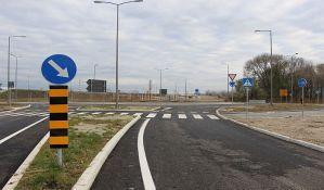 FOTO, VIDEO: Otvorene pristupne saobraćajnice novom drumsko-železničkom mostu, pojedine staze još nedovršene