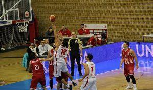 Košarkaši Vojvodine poraženi od Dinamiku u finišu meča