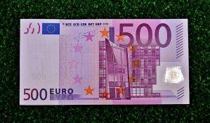 Prestalo štampanje apoena od 500 evra