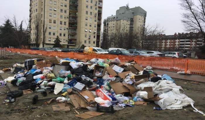 FOTO: Zbog radova u Bate Brkića iznova se formira divlja deponija