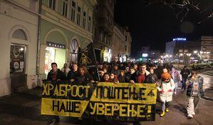 FOTO, VIDEO: Na protestnoj šetnji poručeno - Stop fašizmu!
