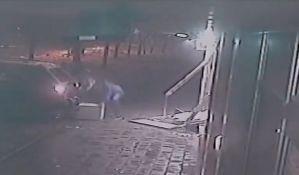 VIDEO: Kolima obili zid menjačnice i ukrali sef sa dva miliona dinara