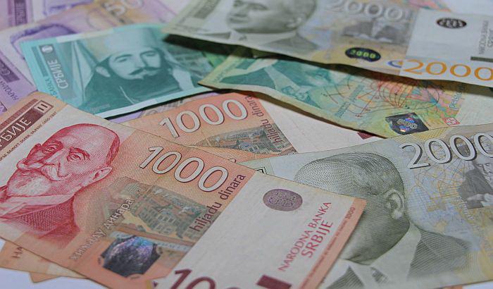 Deficit budžeta Srbije na kraju februara 600 miliona dinara