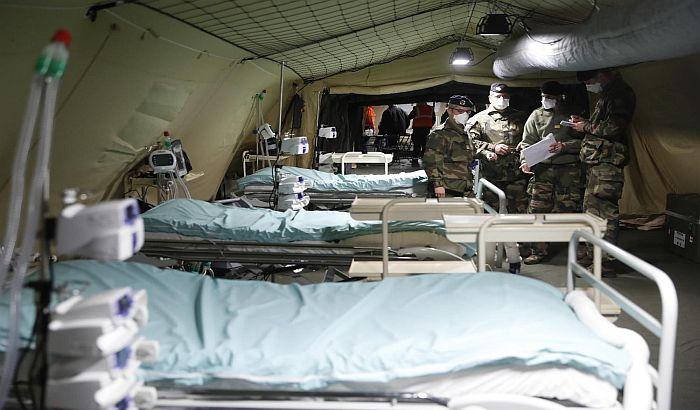 Najgori dan u Francuskoj, za dan preminulo 833 obolelih od virusa korona