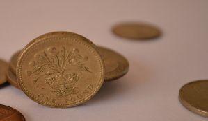 Nedostaje 24 miliona starih novčića britanske funte