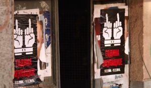 U severnoj Kosovskoj Mitrovici plakati
