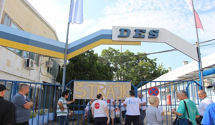 Radnici DES-a dobili jednu platu, ali nastavljaju štrajk