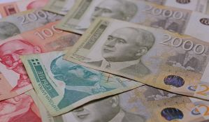 Evro u ponedeljak 117,59 dinara