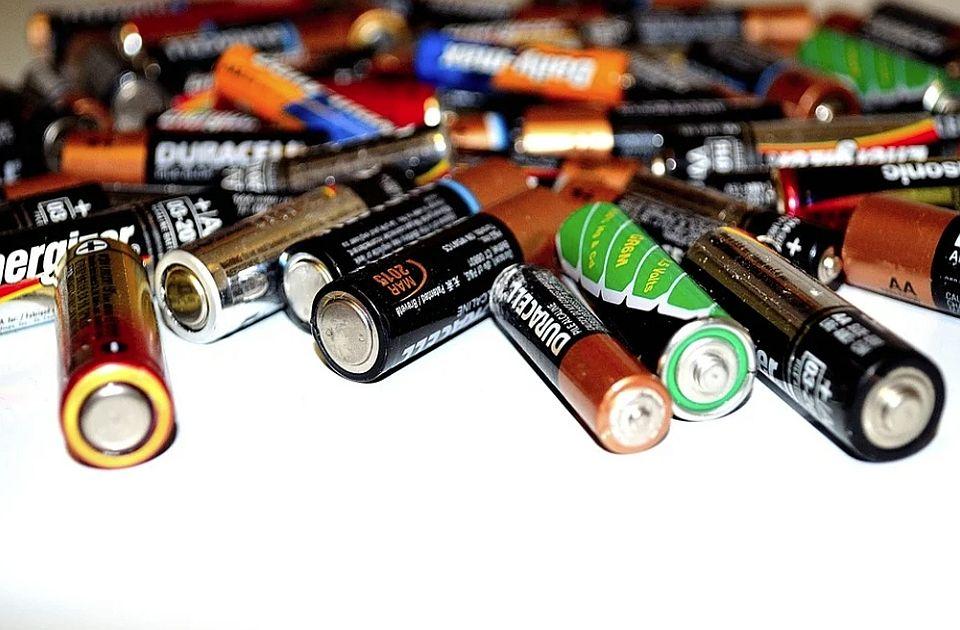 Recikliranje baterija u Srbiji bi moglo da košta upola manje nego u svetu