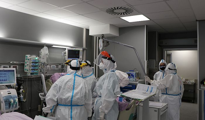 U novosadskim bolnicama 252 kovid pacijenta