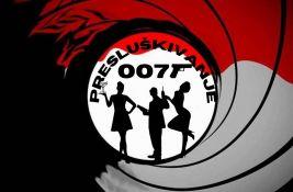 Presluškivanje večeras slavi agenta 007