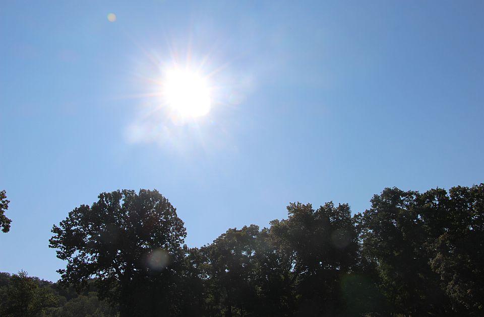 Od sutra lepše vreme, u nedelju 28 stepeni