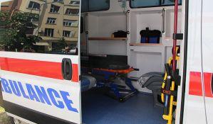 Muškarac teško povređen u sudaru na putu za Rumenku