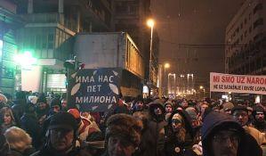 Oko 150 profesora Filozofskog fakulteta u Beogradu podržalo građanske proteste