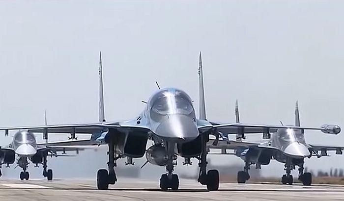 Sudar dva borbena aviona na Dalekom istoku Rusije