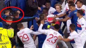 VIDEO: Everton kažnjen zbog navijača koji se tukao s detetom u naručju
