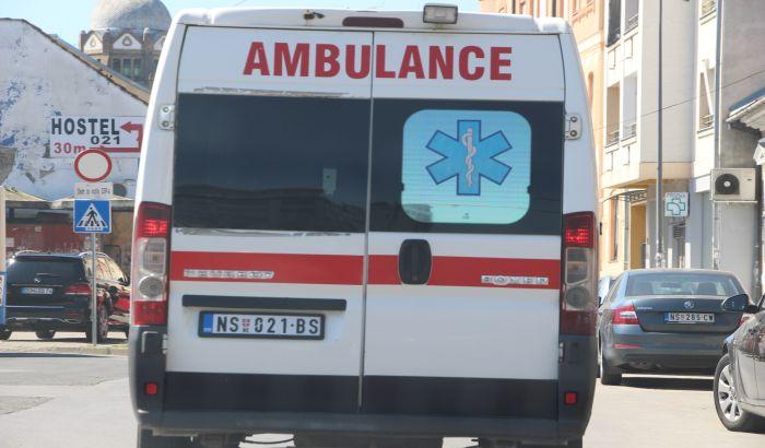 Šestoro povređenih u udesima na putu za Temerin, u Veterniku i na Naselju, među njima i dete