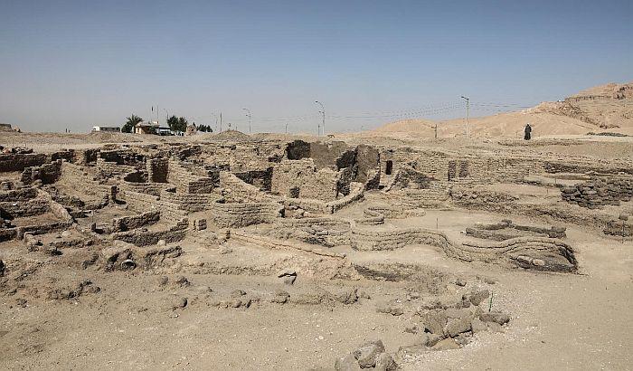 "FOTO, VIDEO: U Egiptu otkriven ""izgubljeni zlatni grad"""