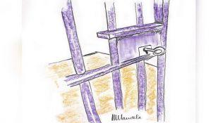Mandelin crtež vrata zatvorske ćelije prodat za više od 110.000 dolara