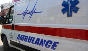 Motociklista povređen u udesu u Petrovaradinu