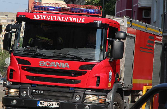 Pančevo: Ugašen požar u fabrici