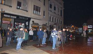 FOTO: Još jedan protest opozicije održan u Novom Sadu