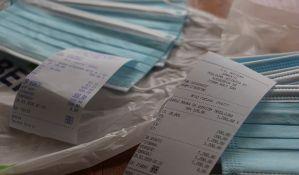 U novosadske apoteke stigle zaštitne maske, prodaju se po ceni od 120 dinara