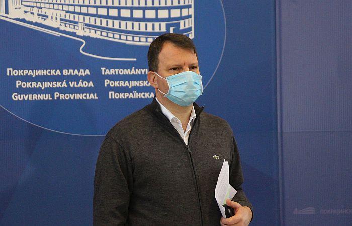 Mirović: U Novom Sadu 22 pacijenta obolela od virusa korona, potrebna dodatna opreznost