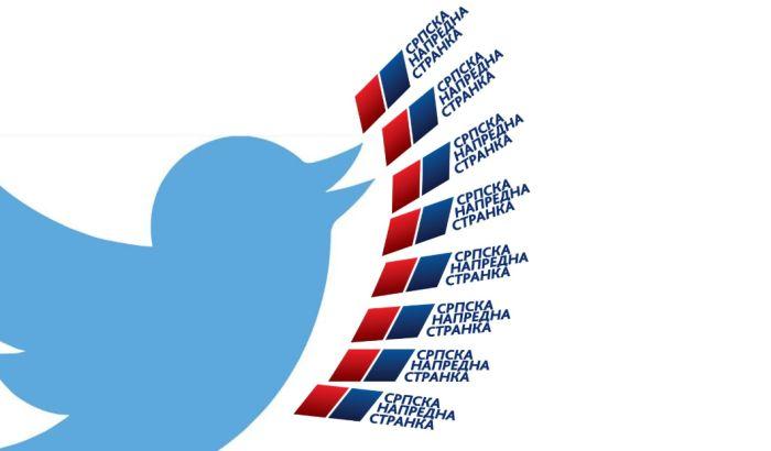TS: Brisanje Tviter naloga povezanih sa SNS bi trebalo da probudi interesovanje Agencije za borbu protiv korupcije