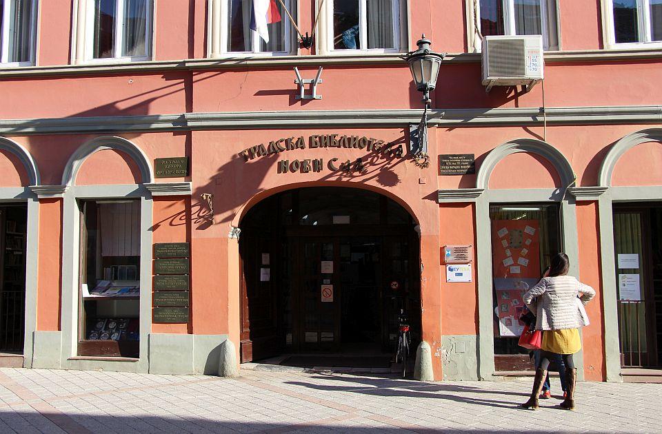 Gradska bublioteka u Dunavskoj od sutra zatvorena zbog radova