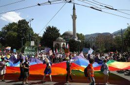 Održana treća povorka ponosa u Sarajevu